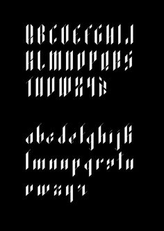 Exodus Typeface by Andreas Leonidou, via Behance