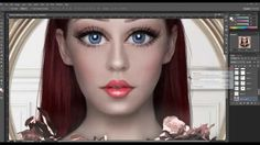 Doll face por Juli SnowWhite  https://www.facebook.com/juli.snowwhite #Tutorial #Photoshop #SpeedArt