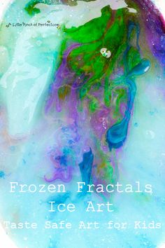 Frozen Fractals Ice