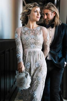 Dust Rose Adona Dress | BHLDN