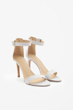 5fec3189e1f Slim Heel Sandals by Cos Bridal Heels