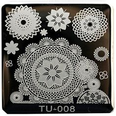 Willtoo 2016 Hot Sell Pattern DIY Nail Art Image Stamp Stamping Plates Manicure Template 08 *** You can find more details by visiting the image link. (This is an affiliate link) #FootHandNailCare