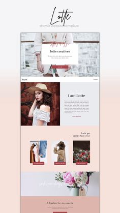 Website Template Lotte Designer-made Showit Website Template. Quickly launch a highly stylish website for a small budget.Designer-made Showit Website Template. Quickly launch a highly stylish website for a small budget. Web Design Trends, Design Websites, Web Design Tips, Fashion Web Design, Layout Design, Web Layout, Page Design, Ui Design, Branding Design