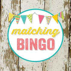 BINGO game card for baby or bridal shower made by katiedidesigns, $8.00