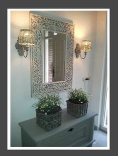 A bit of editing wont harm Decoration, Country Style, Sweet Home, Design, Beautiful, Home Decor, House, Future House, Mirror