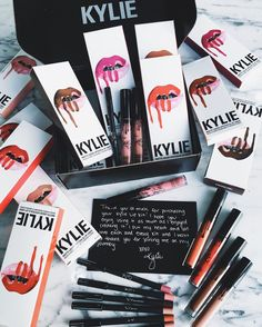 Me want all of them. Especially Posie K #kyliecosmetics