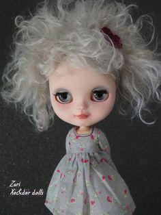 OOAK custom Icy doll custom blythe sister ZURI by XeiderDolls