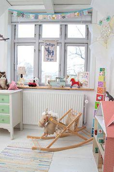 Love this kiddies room Inspiracje pokój dziecięcy http://www.kolory-marzen.pl