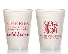 Personalized Plastic Cups Unstock The Bar Party Wedding S Shower Stock Pink 1115