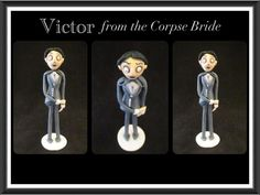 Cake decorating: How to model Victor from The Corpse Bride