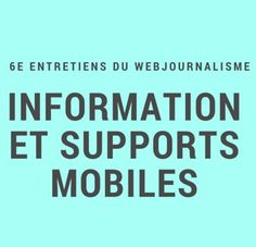 EWJ Lorraine, Support Mobile, Metz, Digital Storytelling, Organizations, Organizing Tips, Organisation, Organizers