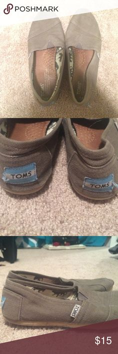 Toms Gray Toms! Got for Christmas I believe 3 years ago and never liked them that much. However, they were worn lightly. Shoes Flats & Loafers