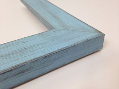 BABY BLUE Rustic Reclaimed Distressed Barn Wood by WholesaleFrame