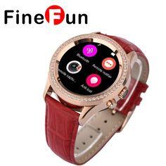 71.99$  Watch here - http://ali77n.worldwells.pw/go.php?t=32699572711 - FineFun D2 MTK2502 UV Detect CVC6.0Capacitive Touch Screen Bluetooth 4.0 Waterproof Women Smart Watch Support Health Monitoring 71.99$