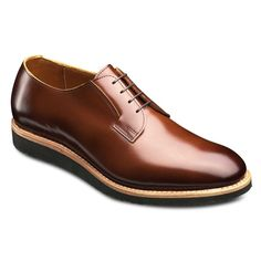 Union Plain Toe Blucher, 7710 Brown