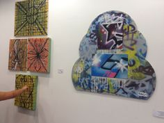 Danny Huckerby @ Out of the Frame Exhibition