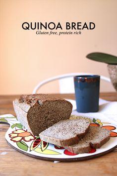 quinoa bread protein rich