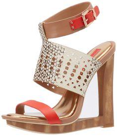 Amazon.com: BCBGMAXAZRIA Women's MA-Meteur Wedge Sandal: Shoes
