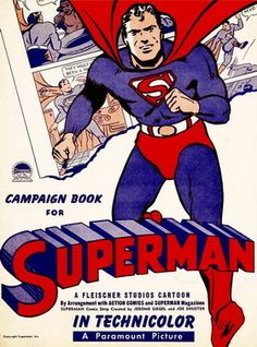 "Campaign Book for Paramount Pictures Studio release of the Max Fleischer ""Superman"" cartoon series, ca. 1940"