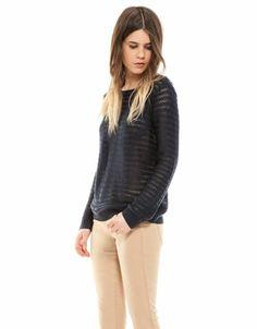 Bershka Belgium - BSK crochet jumper