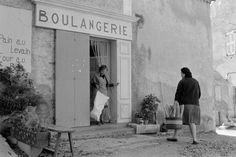 Bakery in the south of France - Les Salles-sur-Verdon dans le Var, 1973, Jean Gaumy