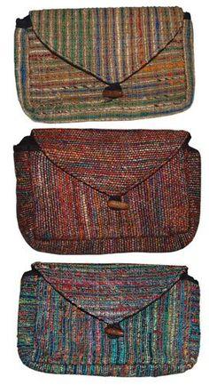 Recycled Silk Sari Clutch Bag $18.00