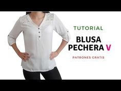Embroidery Stitches, Sewing Projects, Tunic Tops, Casual, Mens Tops, How To Make, Shirts, Clothes, Youtube