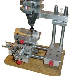 ACRA mini mill using your Dremel.