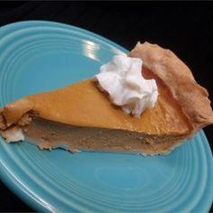 Sugarless Pumpkin Pie II - Allrecipes.com