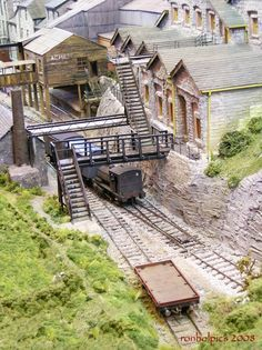 A layout at the Warley Annual National Model Railway Exhibition at the National Exhibition Centre. Birmingham 2008