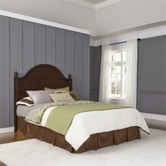 Lowest price online on all Home Styles Country Comfort King and California King Headboard in Bourbon - 5522-601