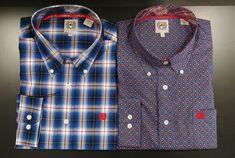 De nouvelles chemises pour vous messieurs! Dites-nous laquelle vous préférez :) (gauche ou droite) Gauche, Plaid, Shirts, Tops, Women, Fashion, Wrangler Clothing, Chemises, Baby Born
