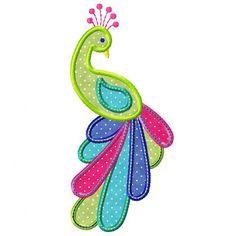 applique designs | Peacock Applique