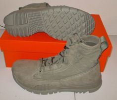 """NEW NIKE SPECIAL FIELD BOOT SFB FIELD 6"""" Tactical MENS Sage Green $150 NIB #Nike #Athletic"""