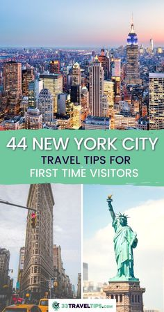 44 New York City Travel Tips for First Time Visitors. Planning a visit to New York City can be incredibly daunting, especially if you've never been there before but we got you covered. Check out these 44 New York City travel tips for first time visitors. New York Travel Tips | New York Travel Guide | New York Travel Tips first Time | New York Travel Guide Things to do | NYC Travel Guide | NYC Travel Tips | What to do in NYC | Travel New York | Visit New York City Usa Travel Guide, Travel Usa, Travel Guides, Travel Tips, Cool Places To Visit, Places To Travel, Travel Destinations, Visit Usa, New York City Travel