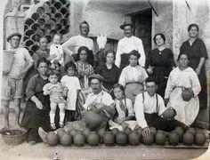Alfareros en Ciudad Lineal, en 1910.