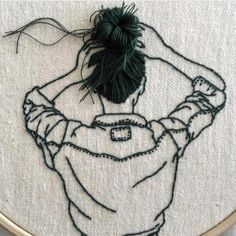 Embroidery Art by Sheena Liam