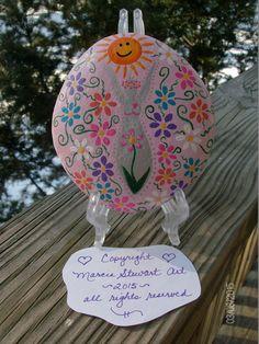 Ostara/Beltain/Spring Flower Goddess Altar by MarciaStewartArt