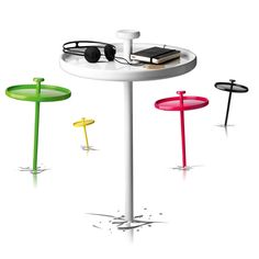 Awesome - Instant outdoor table put in the ground where ever you need one!
