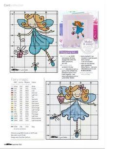 Fairies part 1 free cross stitch patterns Cross Stitch Fairy, Cross Stitch Angels, Butterfly Cross Stitch, Cross Stitch Flowers, Cross Stitch Charts, Cross Stitch Designs, Cross Stitch Patterns, Cross Stitching, Cross Stitch Embroidery