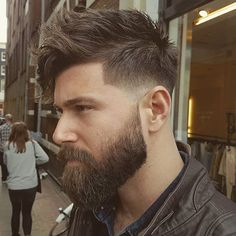 Fresh beard and haircut by the master @mokumbarbers in #amsterdam , do you want to know how this cut was made ? Stay tuned and you'll see
