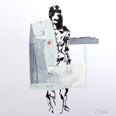Acryl & ink on paper   30x30 cm