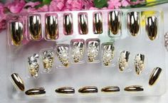 GGSELL LIQI High quality handmake bridal false nail Pre-glued nails New design Nail Art 24pcs Buff false nail White-Crystal and pearl fake fingernails nail patch by LIQI. $12.79. Glue opening and storage instructions: 1.When opening, pay attention to keep glue away from face and eyes as far as possible. Hold pipette upright and do not apply any pressure on sides. 2.When nail application is complete. Place white storage cap over nozzie end of pipette. Always store in an upright ...