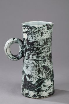 CERAMIC PITCHER BY JACQUES BLIN (1920-1995) 1950