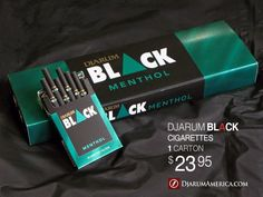 Djarum Black Menthols http://www.djarumamerica.com/djarum-black-menthol