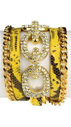Fancy Yellow Bracelet