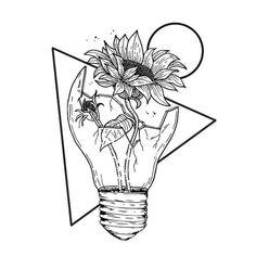 Pin by kylee vigus on // art inspo // Pencil Art Drawings, Cool Art Drawings, Art Drawings Sketches, Tattoo Drawings, Flower Drawings, Broken Drawings, Tumblr Sketches, Tumblr Art, Tattoo Sketches