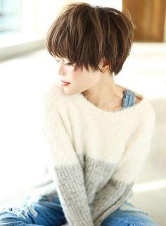 【ショートヘア】コンパクトな大人かわいいショート/AFLOAT JAPANの髪型・ヘアスタイル・ヘアカタログ|2016冬春