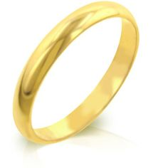 Classic Gold Eternity Ring - Size 7