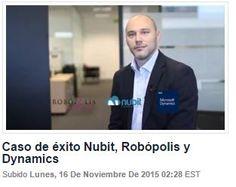 Hoja de información sobre el caso de éxito de Nubit-Robopolis en la implantación del software erp Microsoft Dynamics NAV